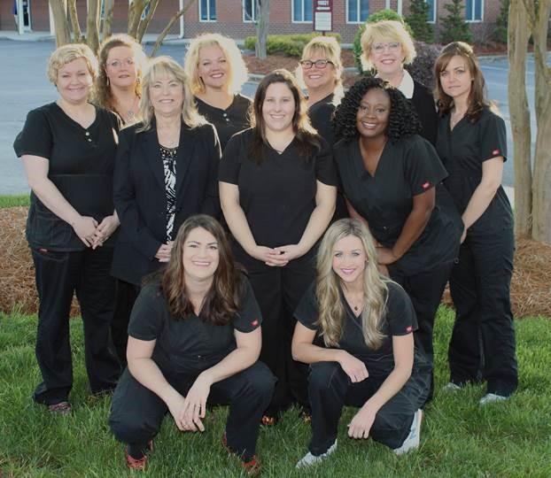 Our dental team at Park Cedar Dentistry